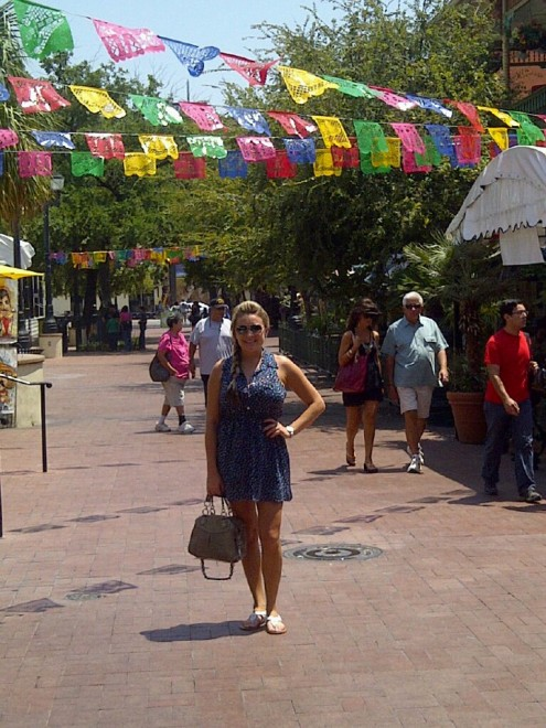 Michelle in Downtown San Antonio