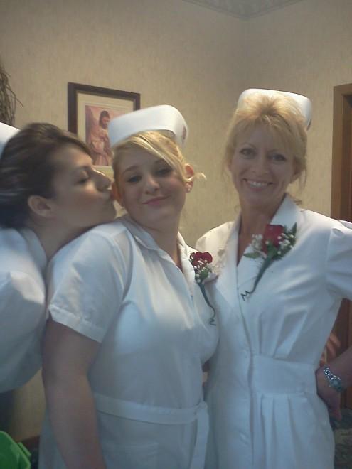 Lori's graduation