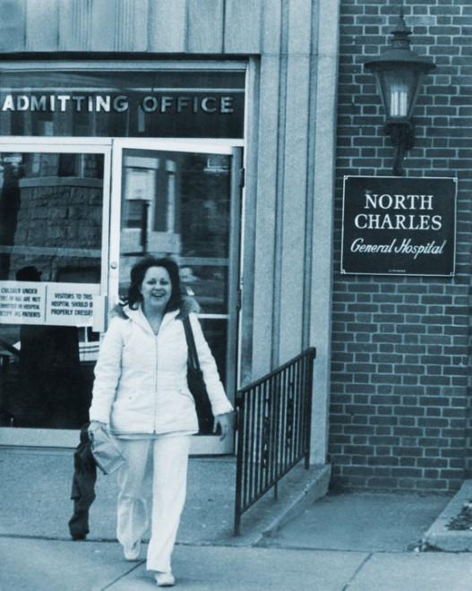 Martha at North Charles Hospital in Baltimore, Maryland
