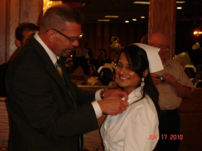 Nurse Graduation: Pinning Ceremony