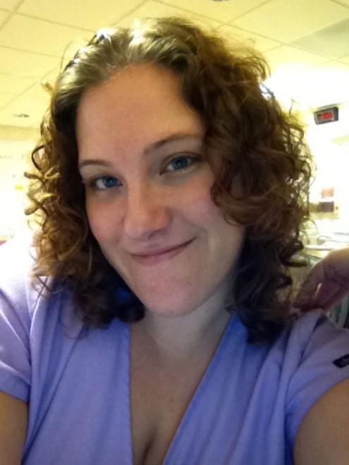 Jamie at Sibley Memorial Hospital in Washington, DC