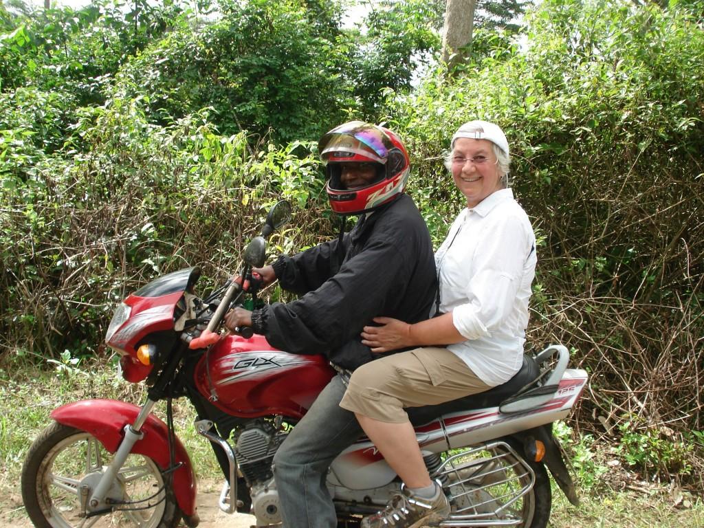Liza traveling from Liberia to Guinea